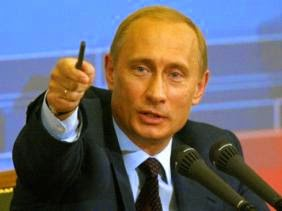 Russian president Alexander Putin. (Source Wikimedia Commons)