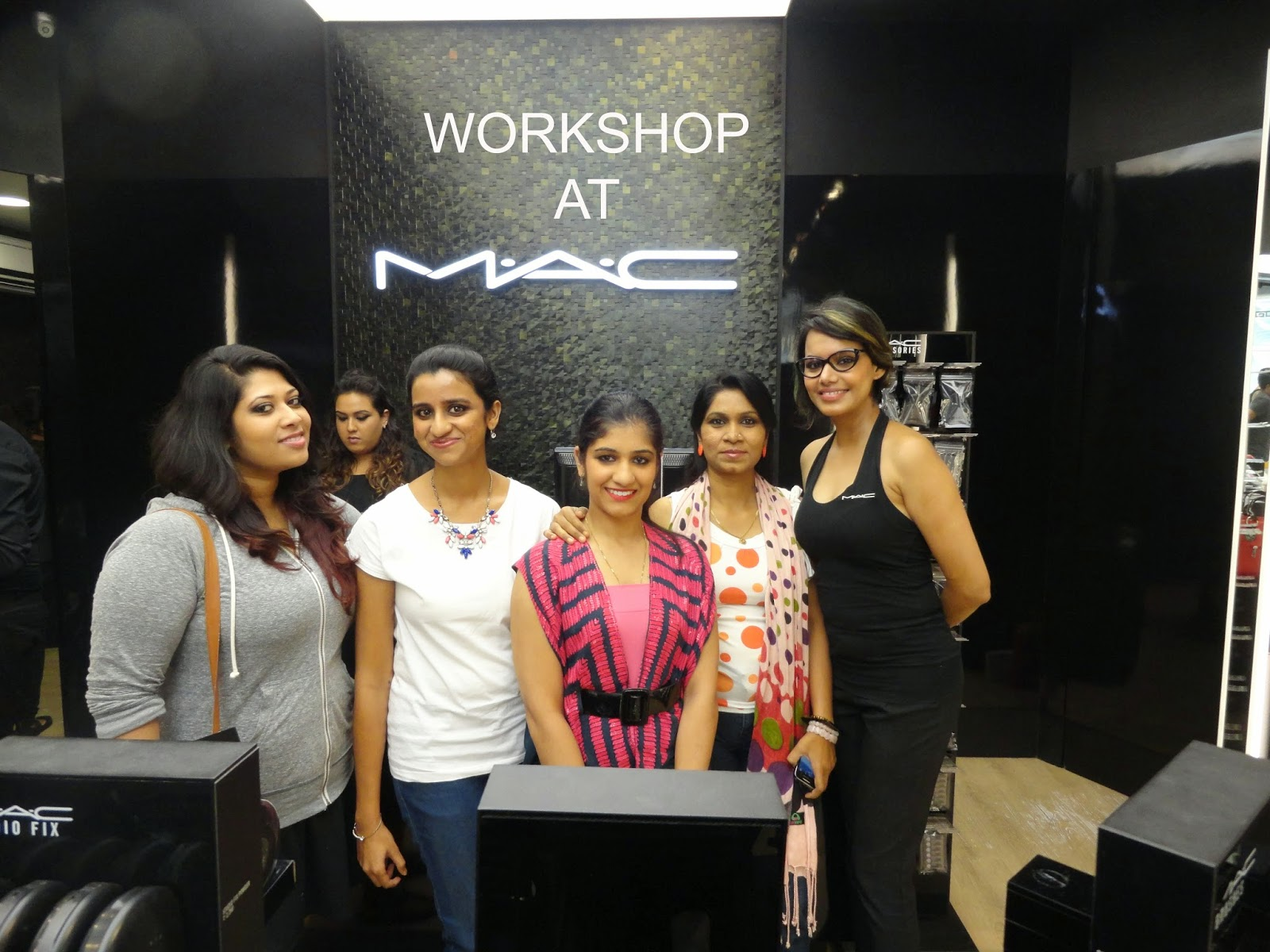 My experience at the MAC Techniques Workshop in Bangalore image