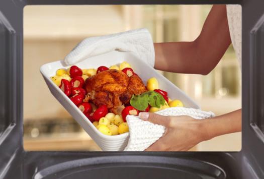 cocinar con el microondas es una decisin personal y a mi me parece una excelente herramienta que facilita las labores del hogar