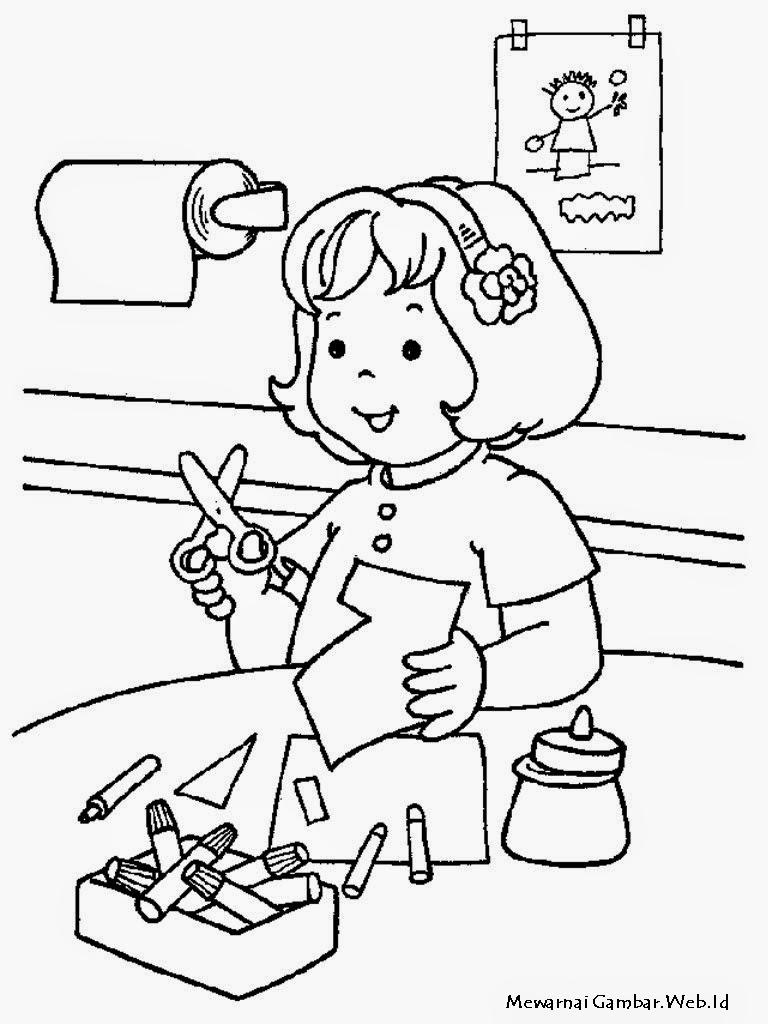 Раскраски детский садик