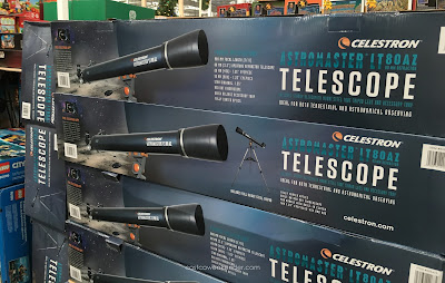 Explore a galaxy far, far, away with the Celestron Astromaster LT 80AZ Telescope