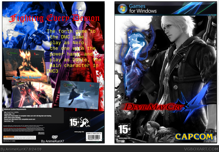 Devil May Cry 4 Tpb