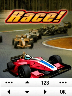 Race Racing Samsung Corby Games Free Download - Screenshot 1