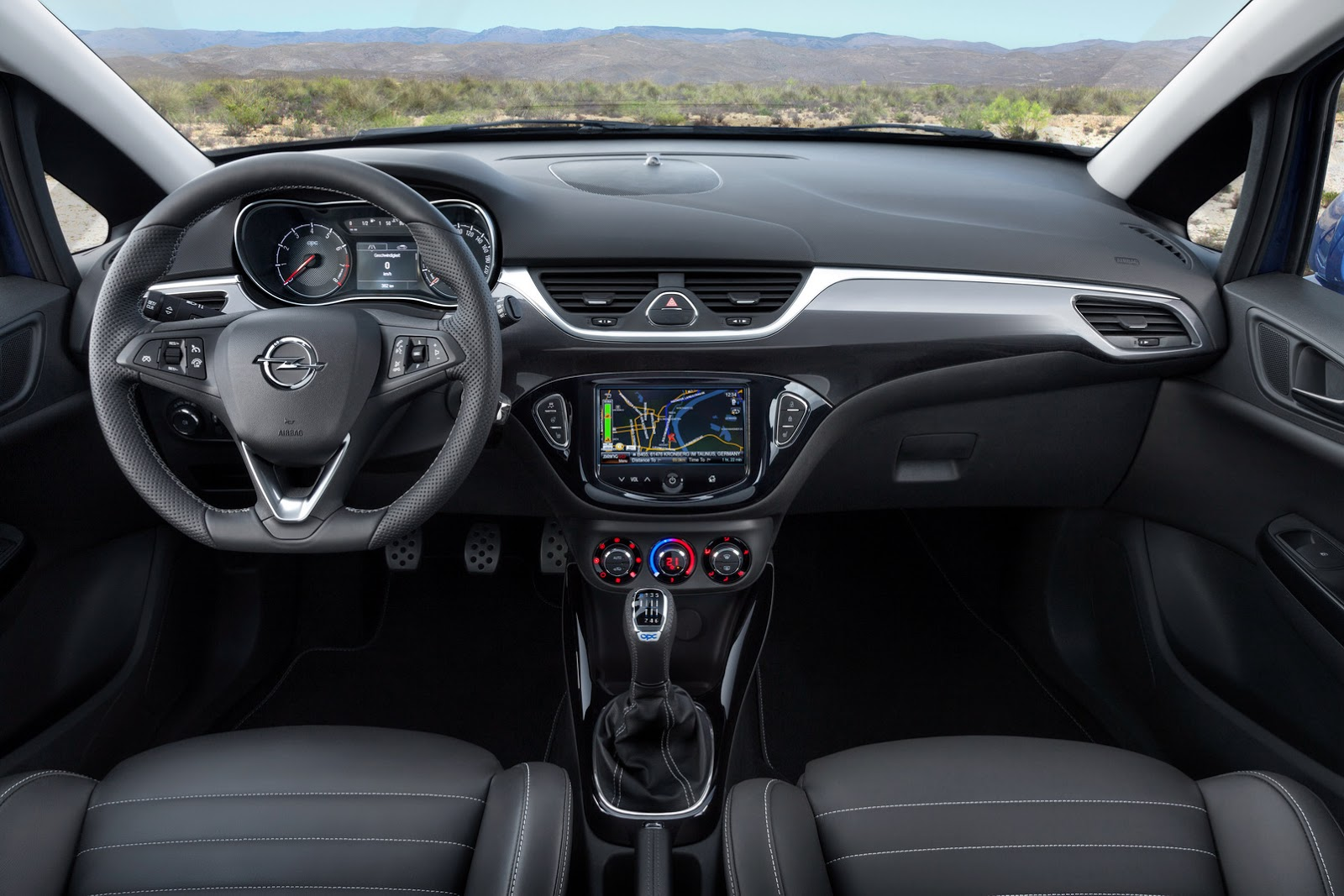 New Photos of Opel Corsa OPC Expose Interior | Carscoops