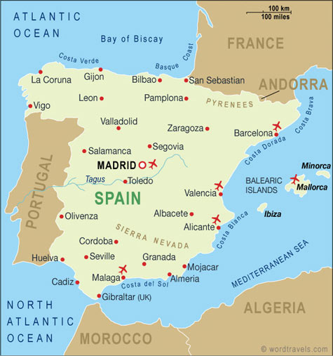Where Should I Spend Week Vacation In Spain: Becki's Study Abroad In Spain: 5 Days To Go