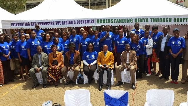 PTA Bank Team with the SMEs leadership in Kenya
