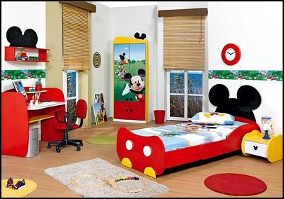 Mickey Mouse Bedroom Furniture Themed Mickey Mouse Bedroom