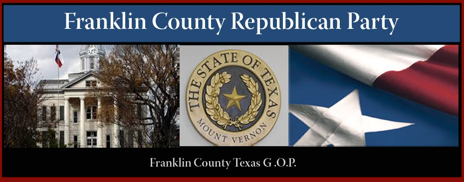 Franklin County Texas GOP