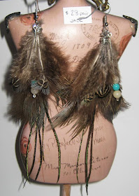 Jade Ashleigh Feather Earrings