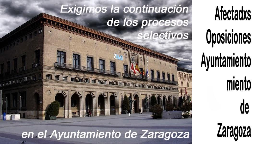 Afectadxs Oposicion Ayuntamiento Zaragoza