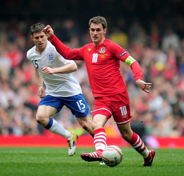 Best Sports Photos Of 2012: Aaron Ramsey Profile & Images 2012