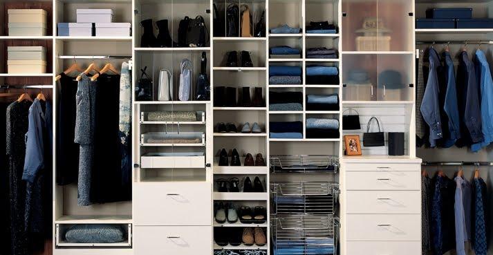 Dia terima nikahnya perkongsian hidup almari baju for Best closet organization systems