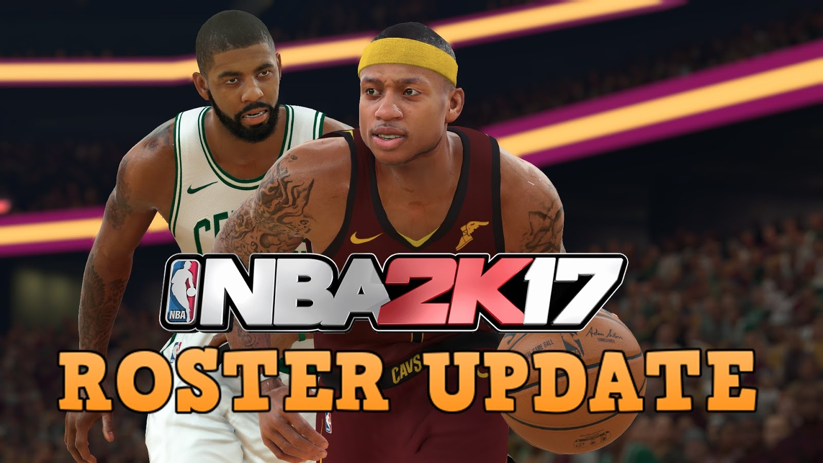 NBA 2K18 ROSTER UPDATE RELEASED │OMG ISAIAH THOMAS - KYRIE IRVING TRADE!