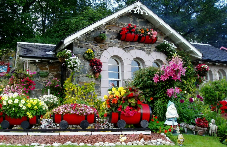 Jardines hermosos c mo tener un jard n espectacular - Casas con jardines bonitos ...