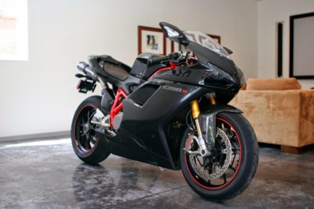 ducati superbike black color in room wallpaper desktop