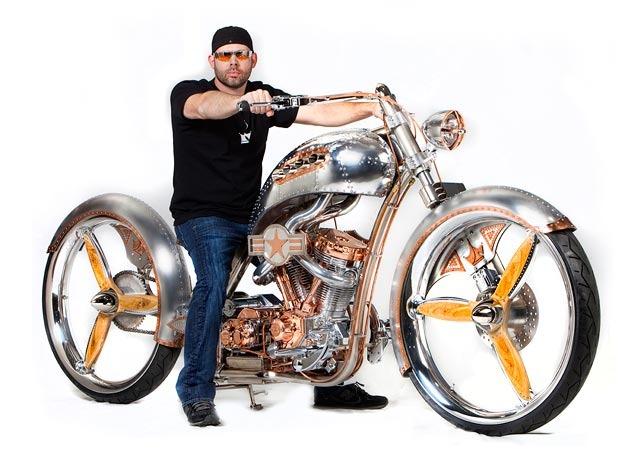 Paul Jr Biker Build Off Bike