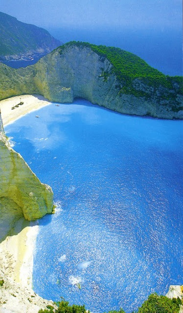 Piece of Paradise The Navagio Beach, Greece