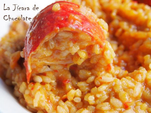 arroz con bogavante cocinar en casa es