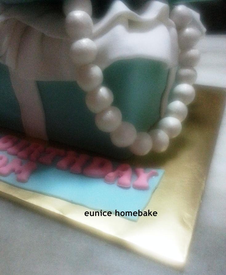 Cake Decor Ltd Company Check : Eunice Home Bake (Klang): Tiffany & Co Theme Cake