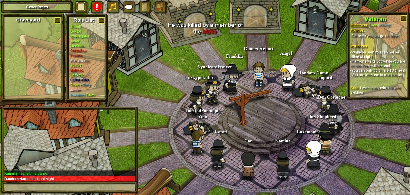 Town of Salem Opfer