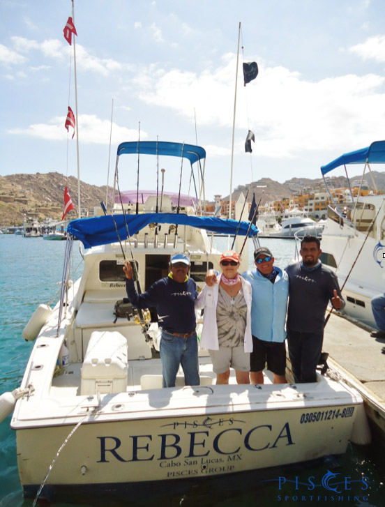 Overall catch success rate all species combined80 for Pisces fishing cabo