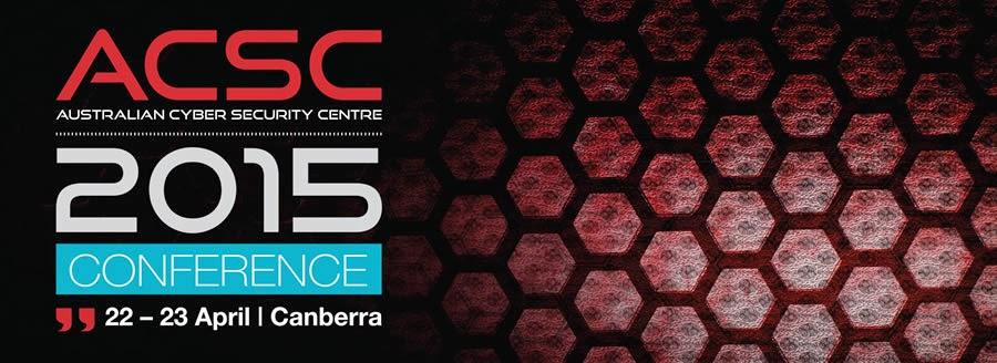 مؤتمر Australian Cyber Security Centre Conference