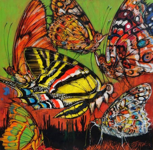 mariposas-pintadas-al-oleo