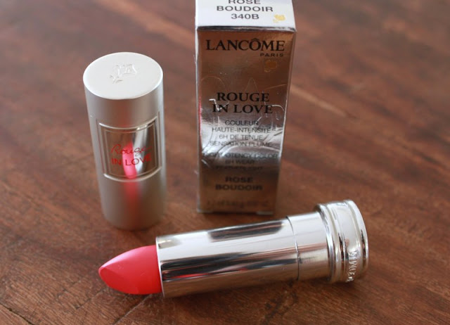 lancome rouge in love rose boudoir