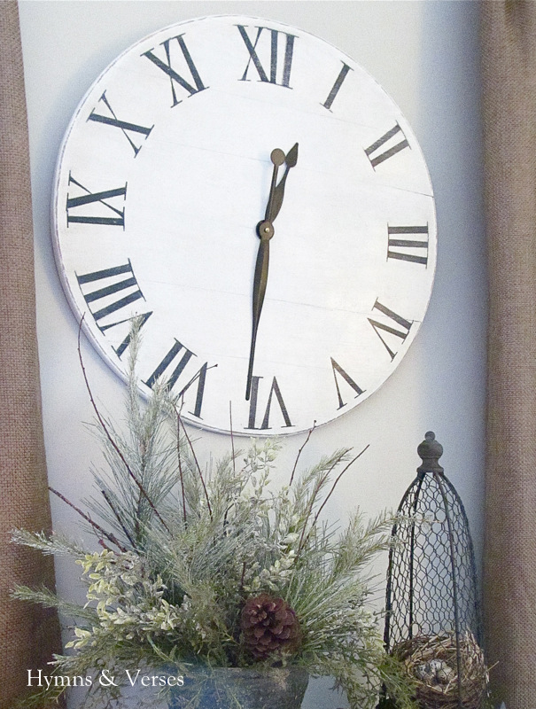 knock off ballard designs wall clock for under 15