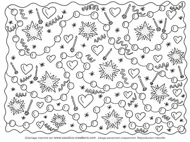 Cocolico creations mercredi coloriage 6 joyeux - Dessin de bon anniversaire ...