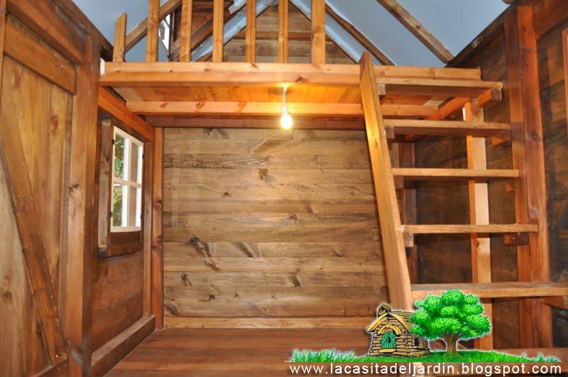 La casita del jard n construcci n paso a paso de una - Casitas pequenas de madera ...