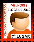MELHORES BLOGS   2012 - CIA DOS BLOGUEIROS
