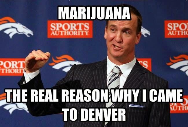Marijuana the real reason why I came to denver