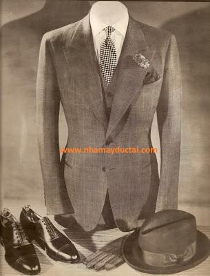 Nhà may Đức Tài - Phong cách áo vest Anh 1