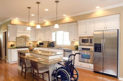 Linda ivanov mobility challenges veterans get help to for Accessible home design