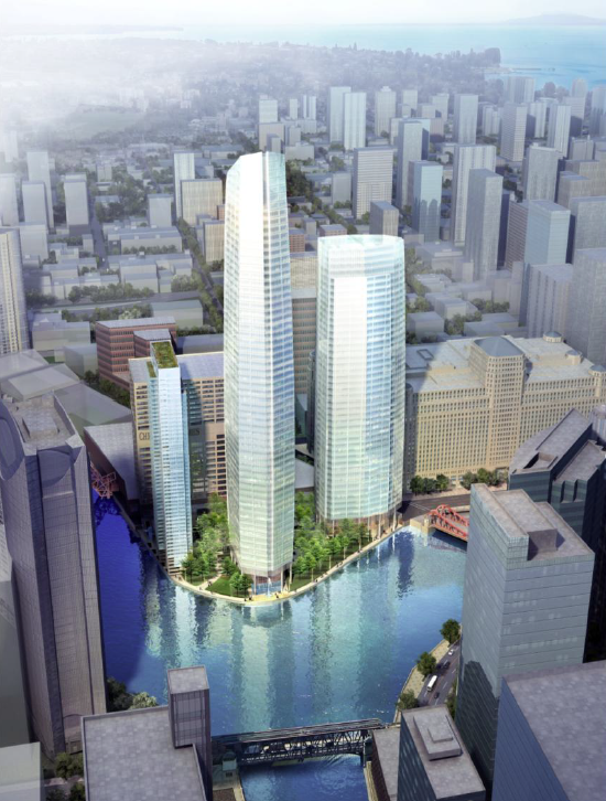 The Results Were Unveiled At A Public Meeting At 350 North Orleans Last  May: A Billion Dollar Project, To Be Built In Three Phases, With Three  Towers ...