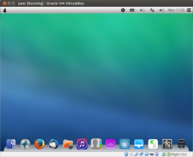 DriveMeca instalando Pear OS 8DriveMeca instalando Pear OS 8