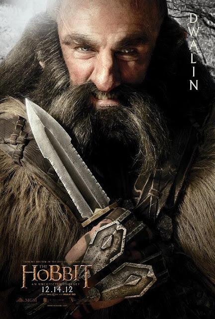 The Hobbit, character poster, dwalin