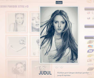 Gallery CSS3 Photo Pinkbox Pada Blog
