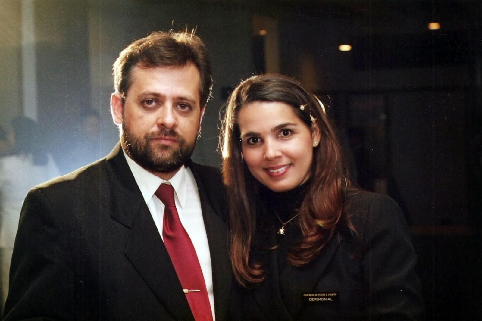 Paulo Hahon e Jo Marim