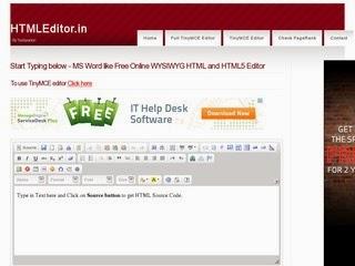 HTML Editor Tool 1