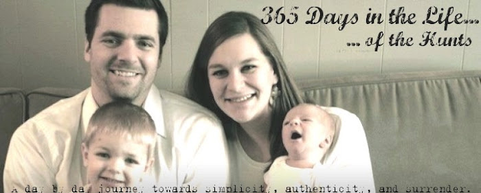 365 days in the life of the Hunts
