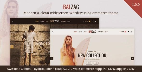 download Balzac - Modern & clean WooCommerce theme