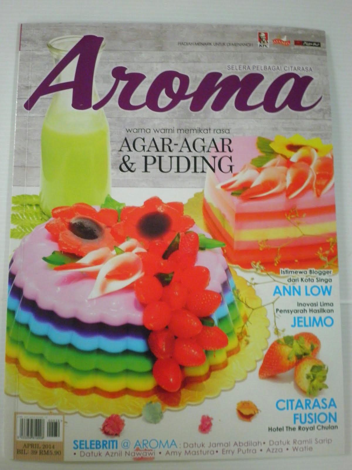 Cover Page Majalah Aroma