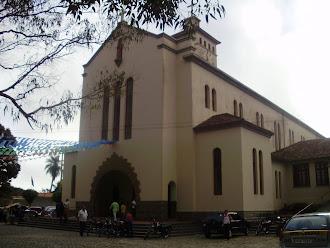Igreja de Santo Antônio que fica dentro do Convento de Ipuarana