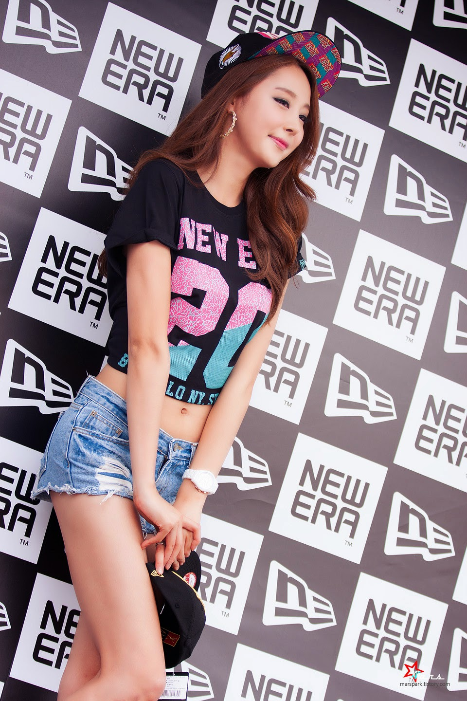 4 Eun Bin - New Era Pop-Up Store Promotion - very cute asian girl-girlcute4u.blogspot.com
