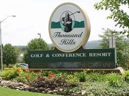 We'll be staying at Thousand Hills Resort !