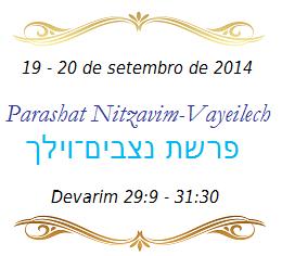 Parashá - Porção Semanal da Torah