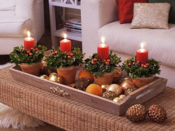 Украшение дома к новому году своими руками
