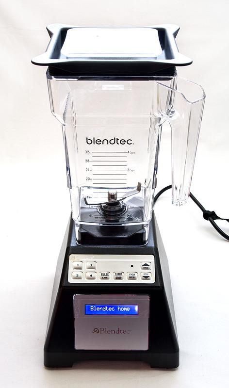 Blandtec home blender on close